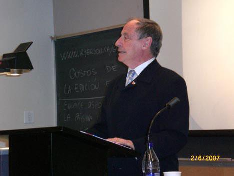 2008, Univ. de Vancouver, Canadá: